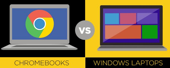 Chromebooks vs. Windows 10 Laptops