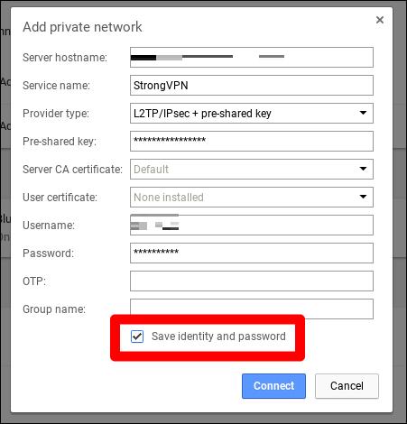 VPN-Chromebook-verbindet
