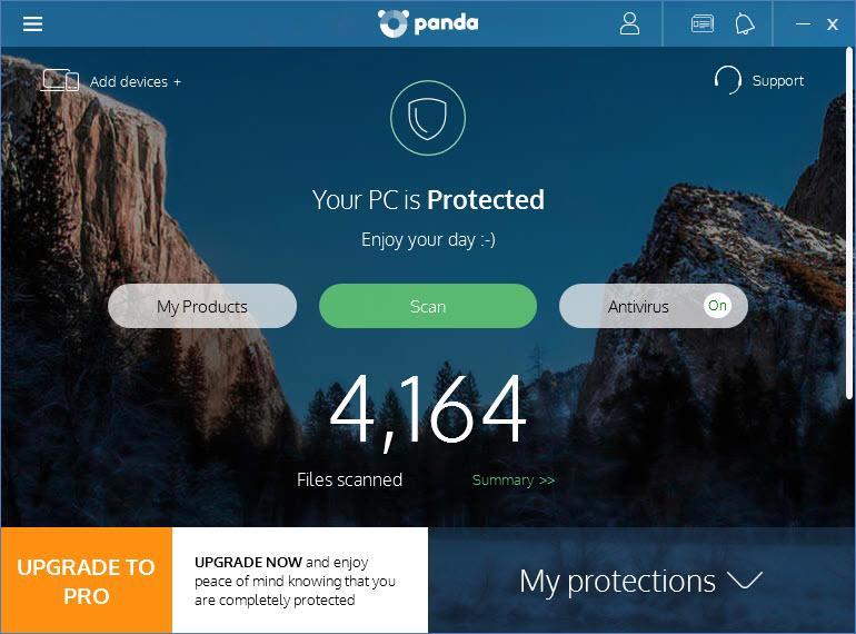 Panda Free Antivirus 2018