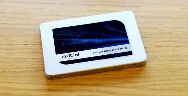 Crucial MX500 Rezension
