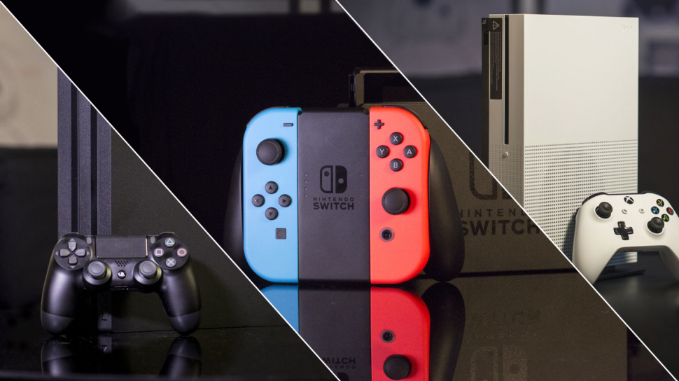 Xbox One S VS. PS4 Pro VS. Nintendo Switch