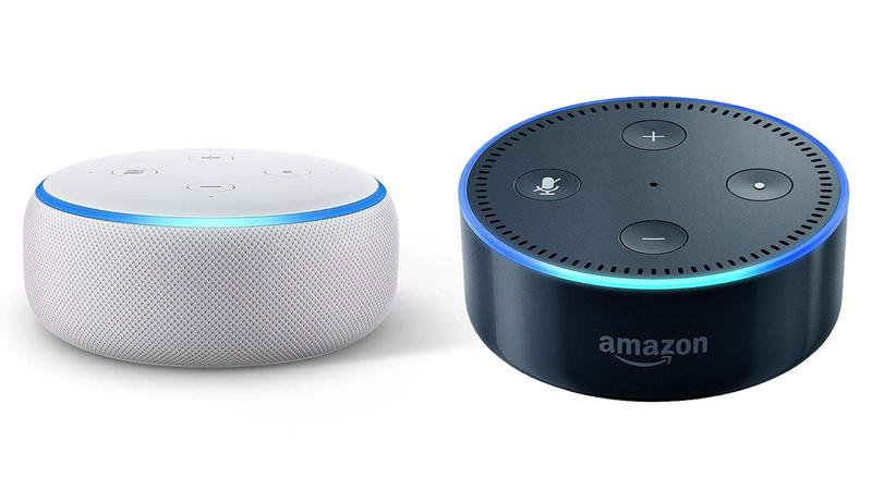 Echo Dot 3 VS. Echo Dot 2