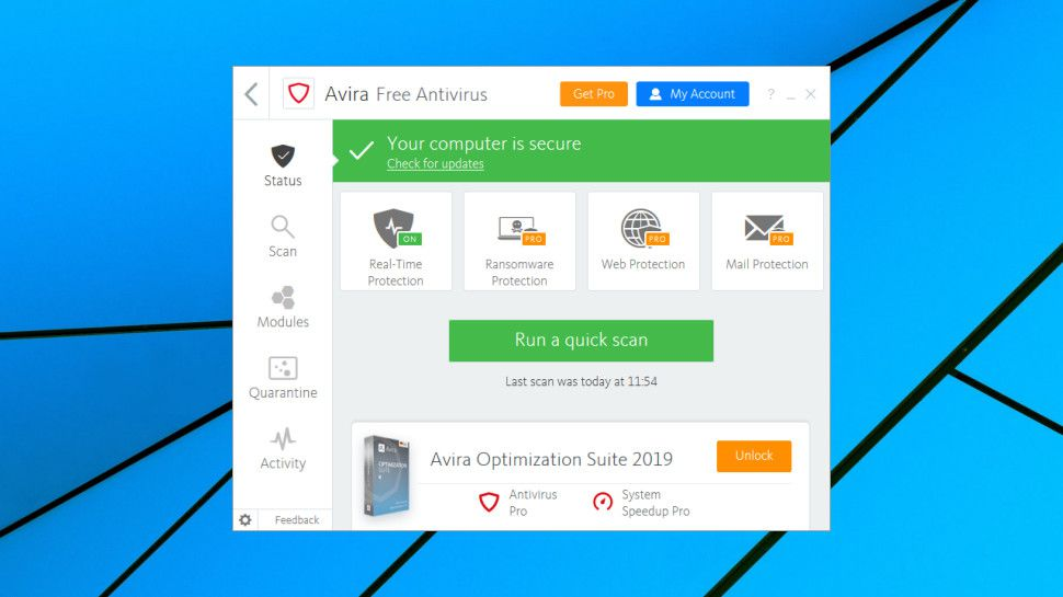 Avira Free Antivirus Rezension
