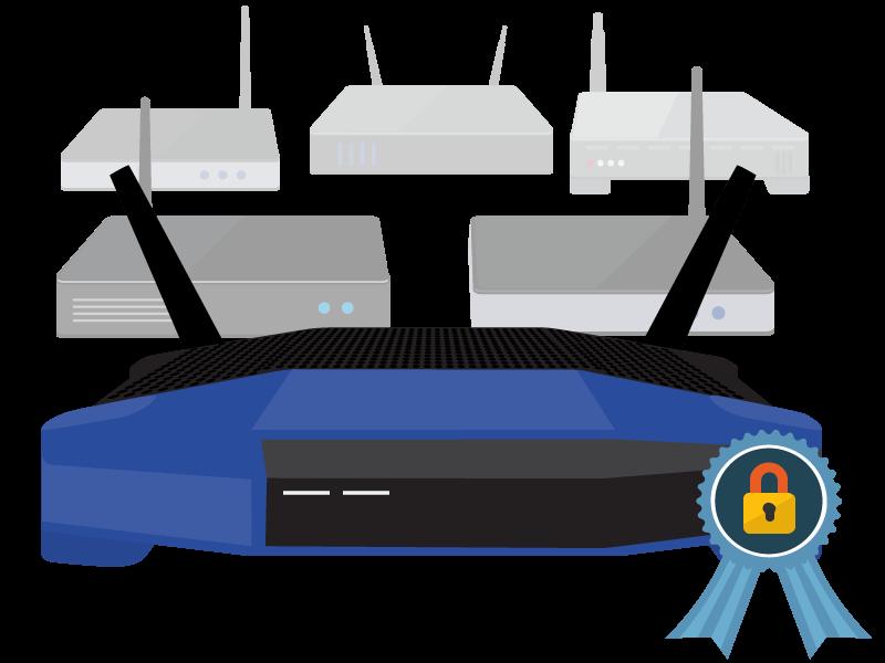 wlan router f r vpn services die besten vpn router 2019. Black Bedroom Furniture Sets. Home Design Ideas