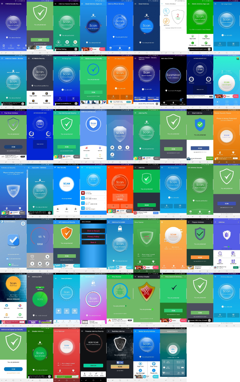 Android Antivirus-Apps