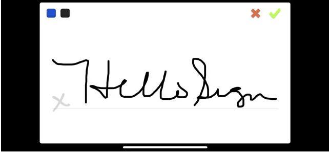 Dokument unterschreiben