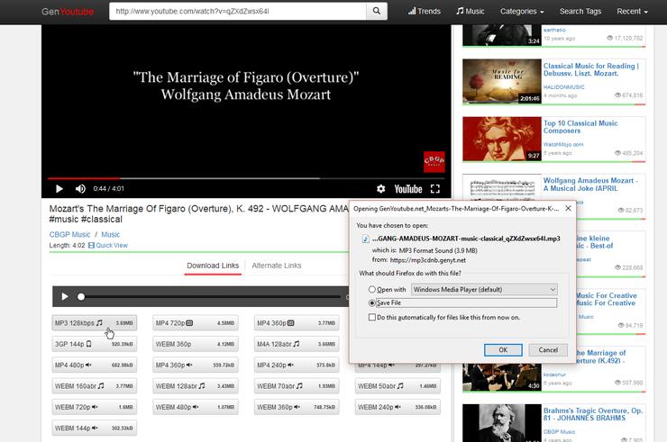 YouTube Videos in MP3-Dateien
