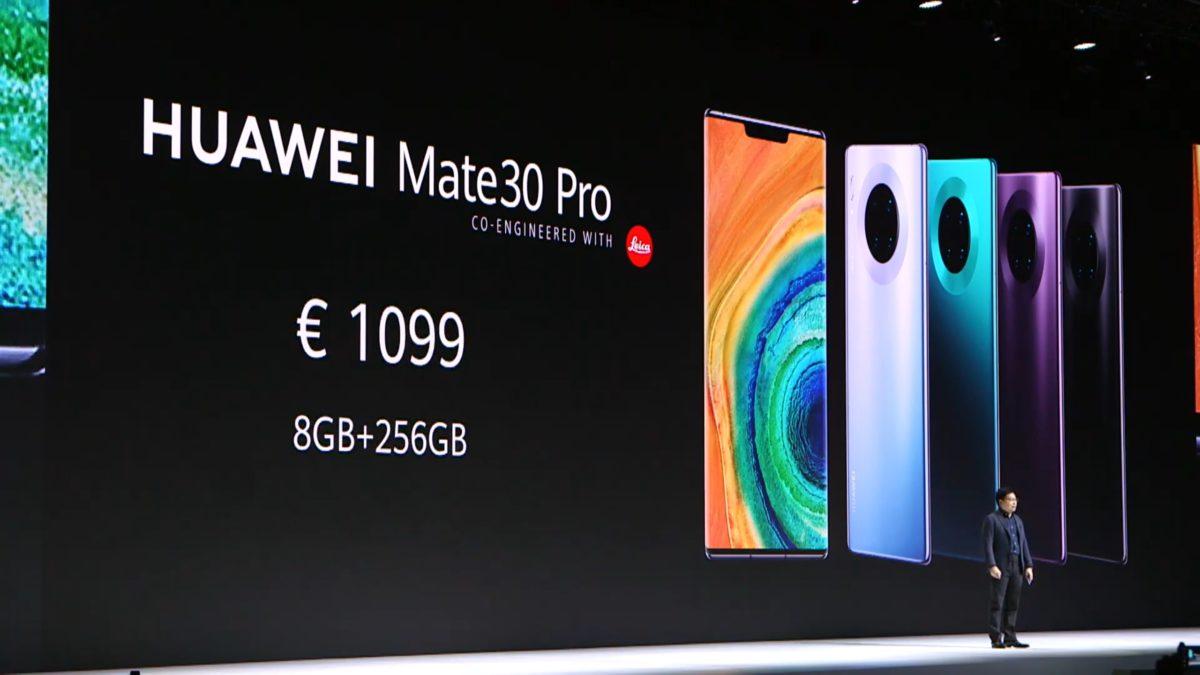 Huawei Mate 30 Pro vs. Huawei P30 Pro