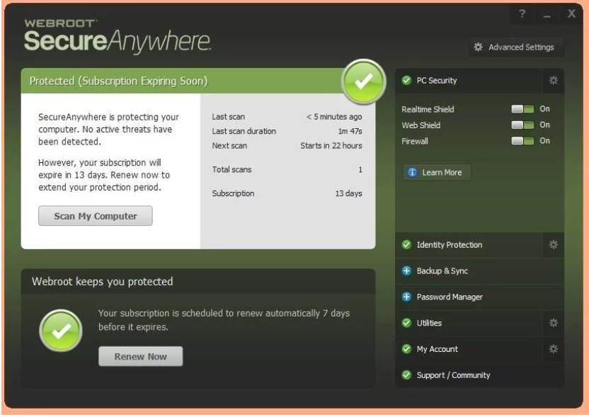 SecureAnywhere AntiVirus
