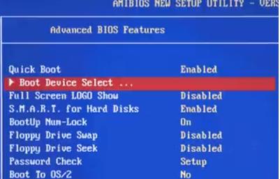 USB-Stick oder eine CD